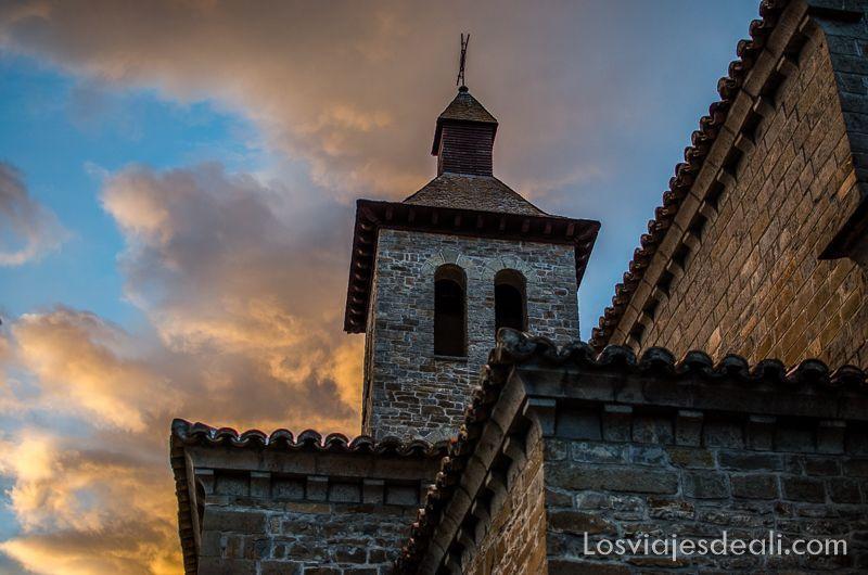iglesia de Biescas valle de Tena