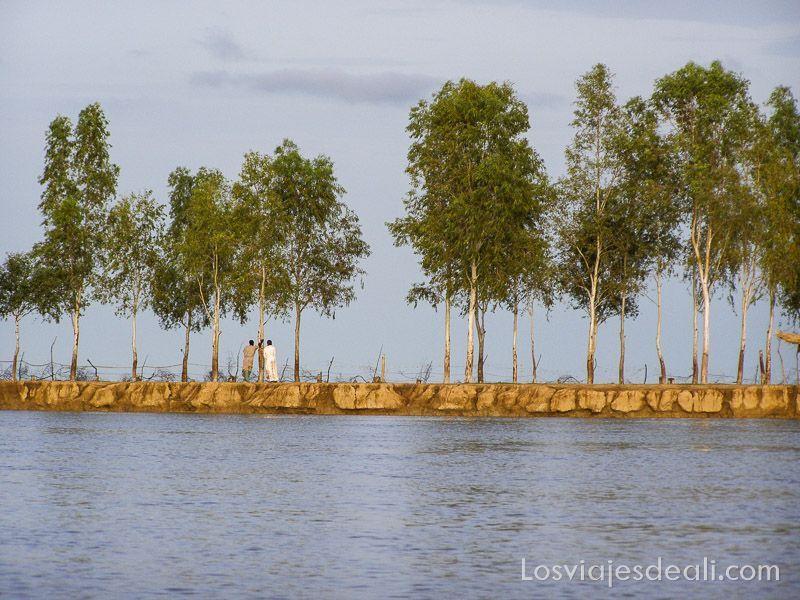 un pueblo del río niger