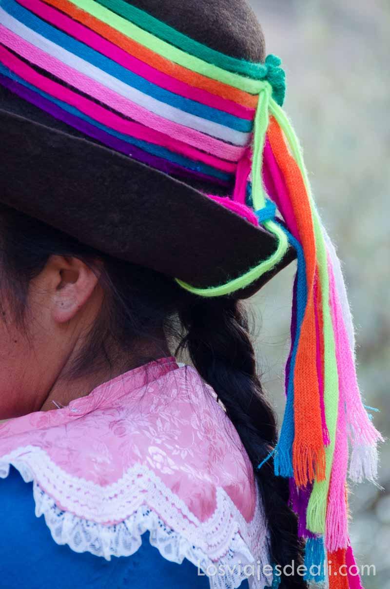 sombrero de comunidad humacchuco
