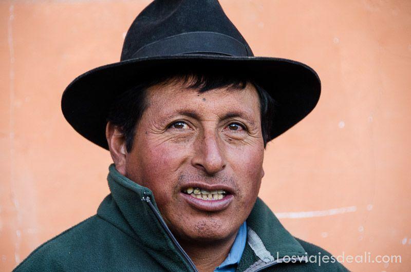 hombre de comunidad humacchuco