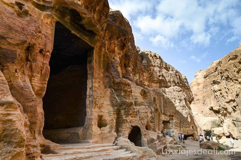 jordania pequeña petra