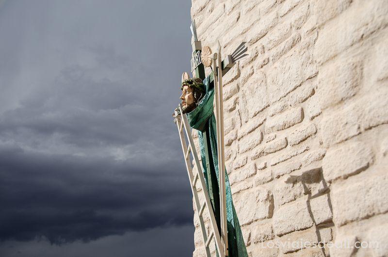 los pueblos del valle del colca Jesucristo en Chivay