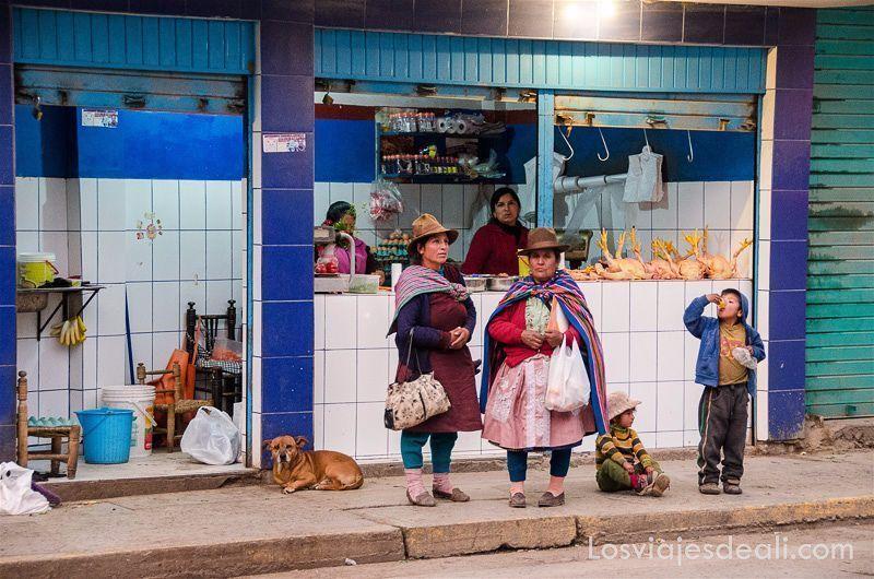 mercado de chavin de huantar