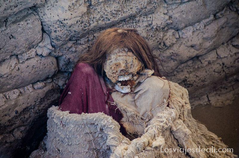 momias de chauchilla en nazca