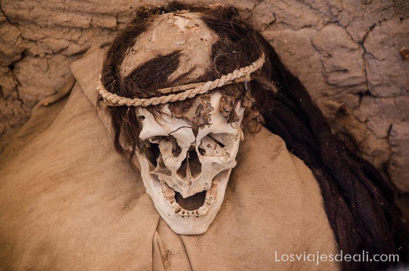 momias de chauchilla mujer