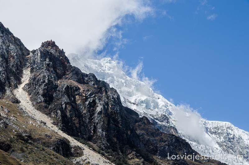 parque nacional de huascaran glaciares
