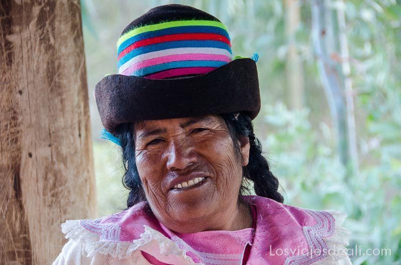 señora de comunidad humacchuco