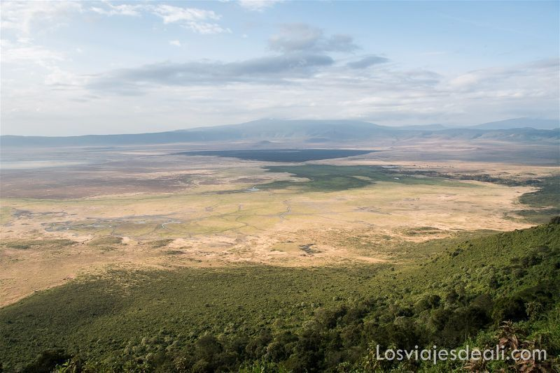 cráter de Ngorongoro Heroes point