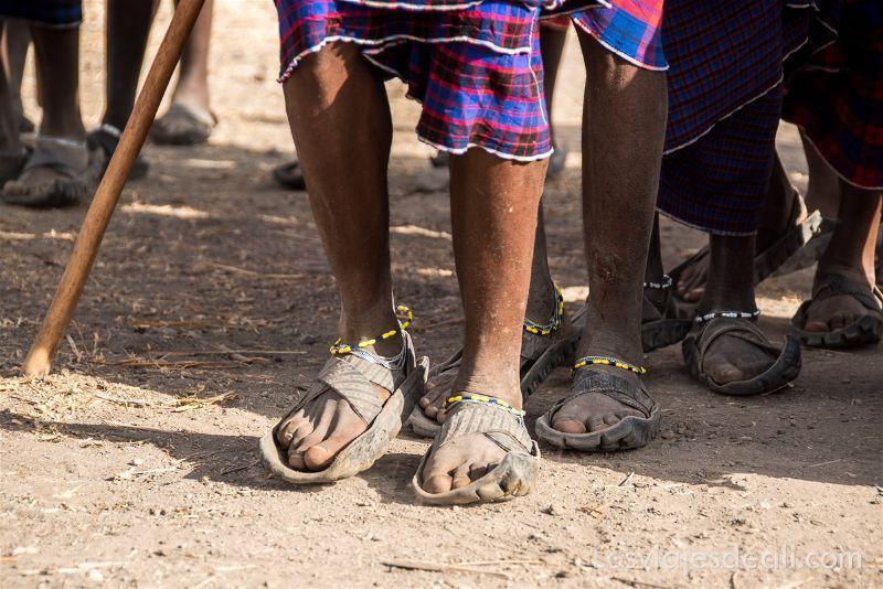 danza de tribu Masai