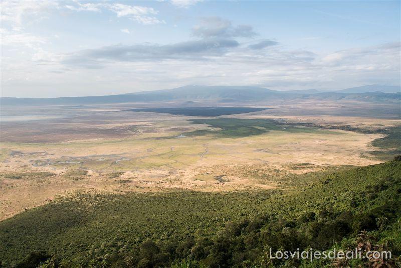 imagenes y sensaciones de Kenia y Tanzania Ngorongoro