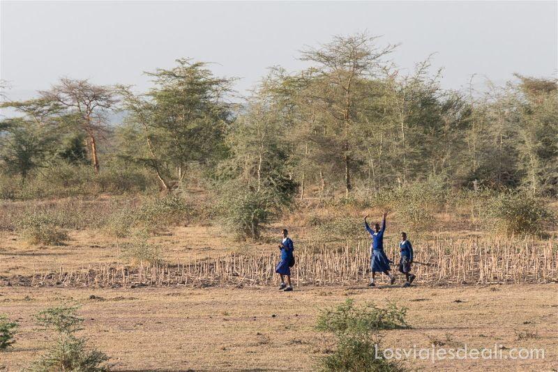 imagenes y sensaciones de Kenia y Tanzania gente