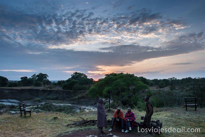 masai mara camp tribu Masai