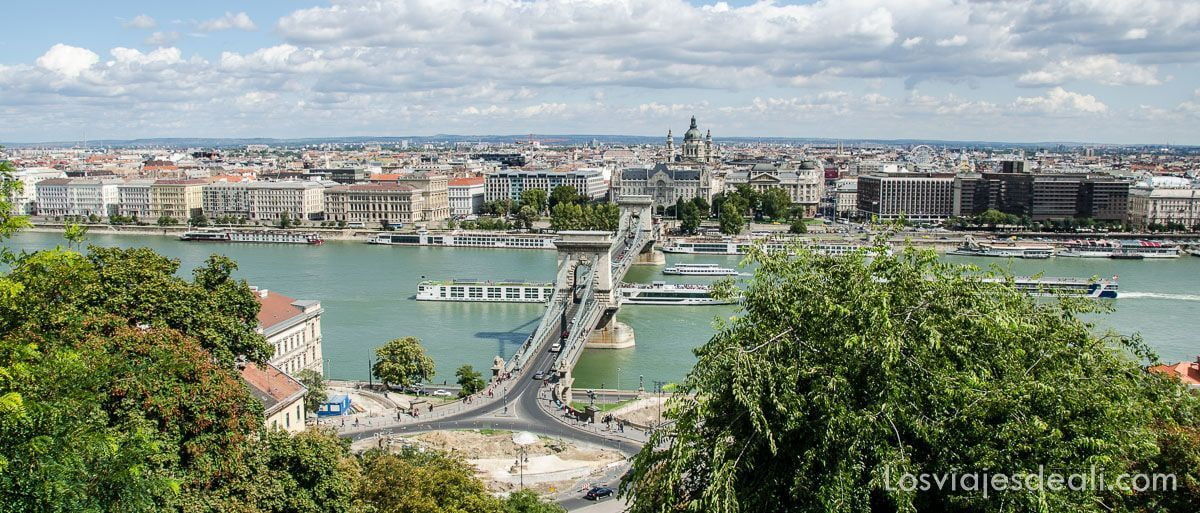 Budapest desde las alturas