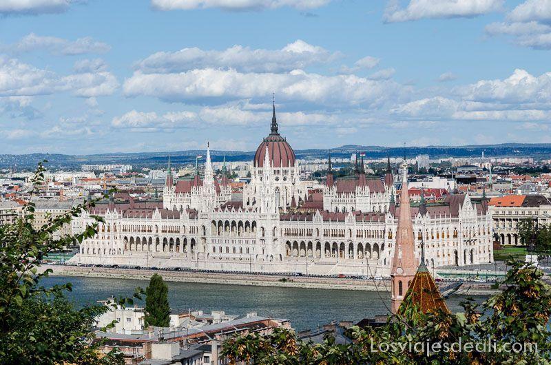 Budapest desde las alturas Parlamento