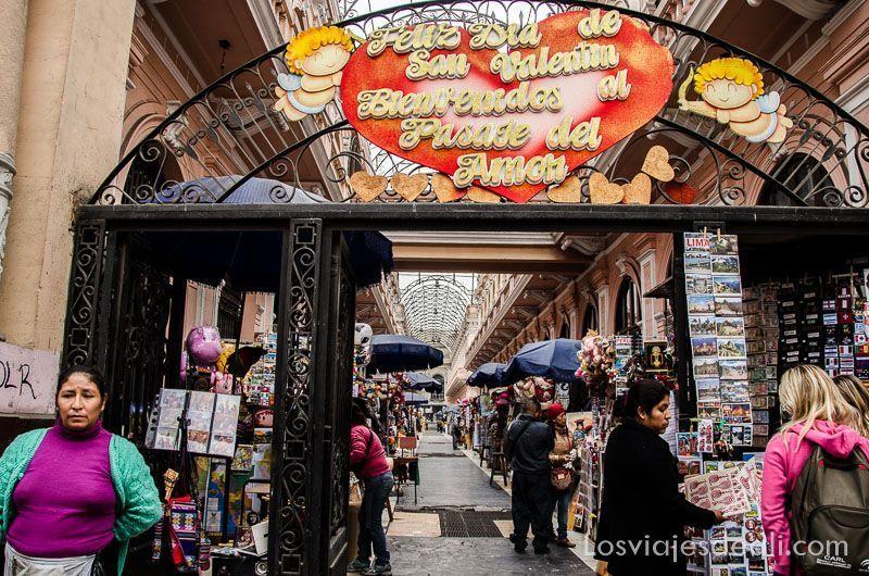 pasaje del amor en Lima