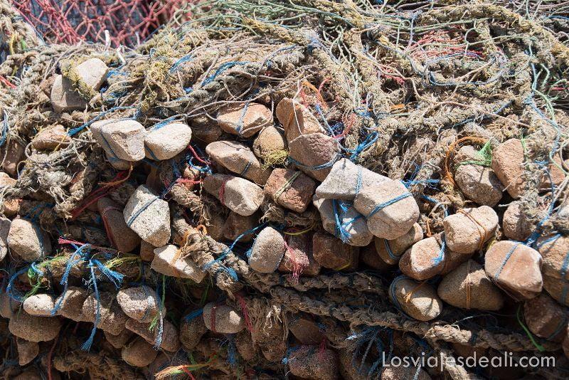 LAGO VICTORIA redes de pesca
