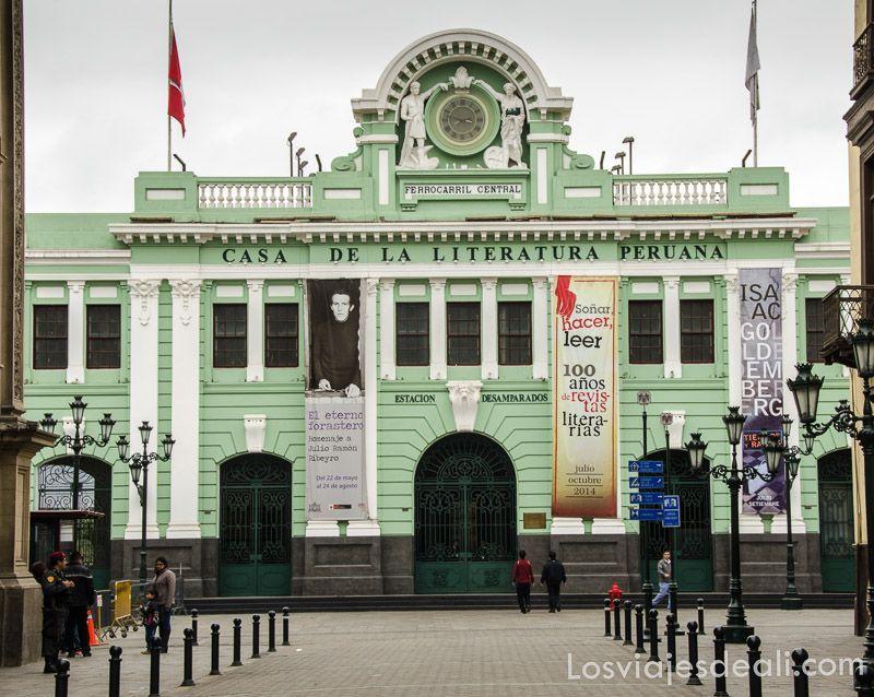 casa de la literatura peruana en Lima