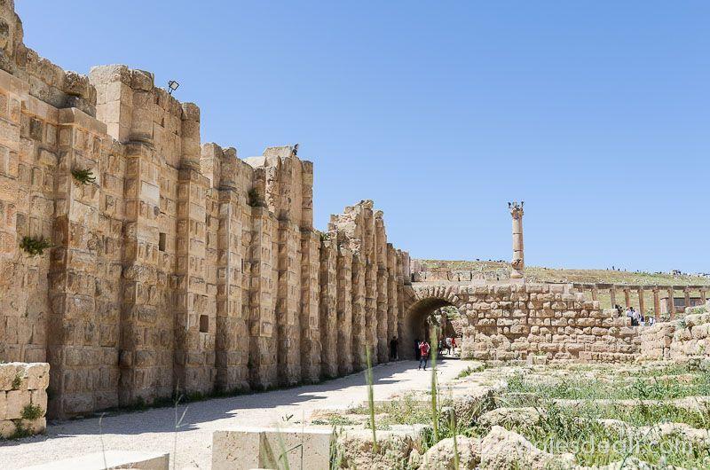 jerash ruinas