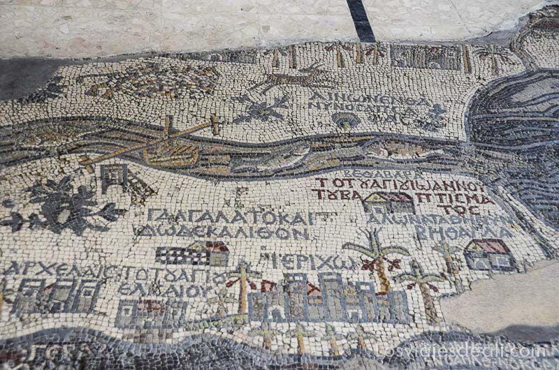 madaba iglesia mosaico jericó