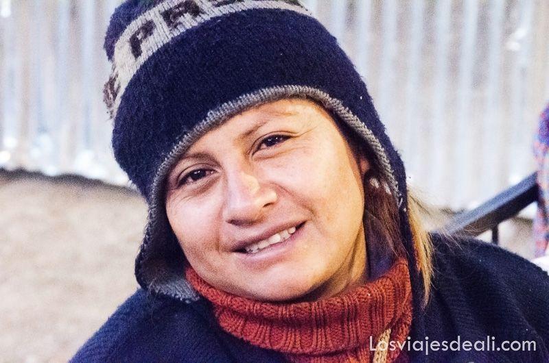 mujer de Huaraz perú