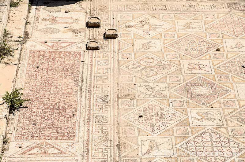 ruinas de jerash mosaicos
