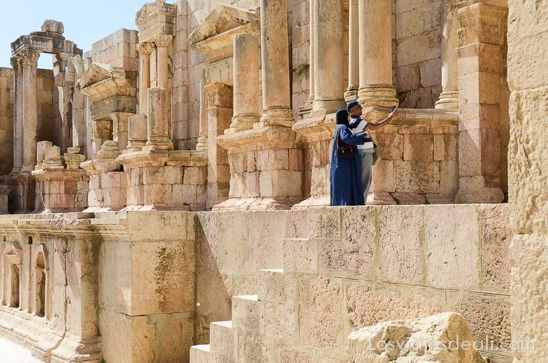 ruinas de jerash relieves