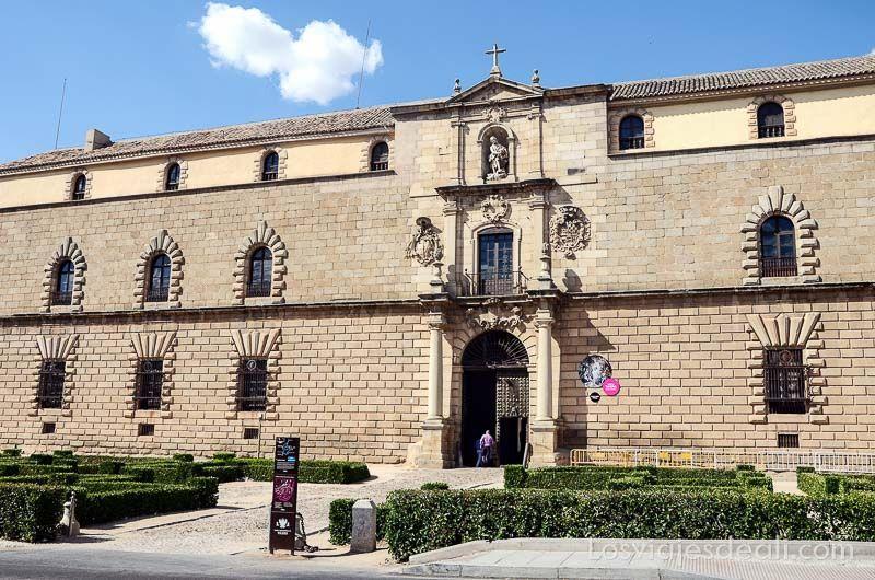 Espacios Greco de Toledo hospital Tavera