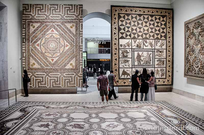 Museo Arqueologico Nacional de Madrid sala mosaicos