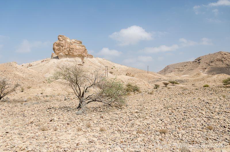 Wadi Al Arbaeen en Omán