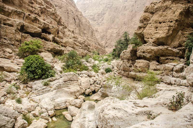 Wadi Shab en Omán