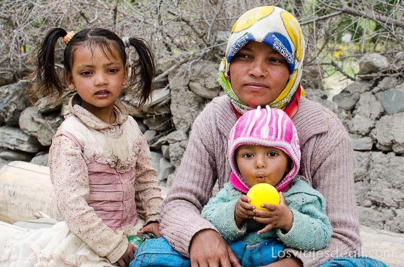 familia de wanla cerca de lamayuru