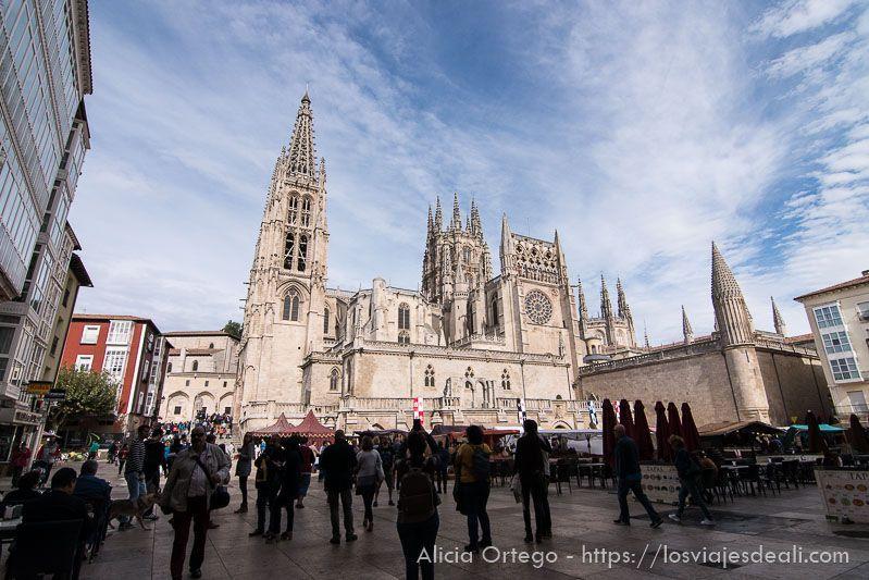 fin de semana cidiano plaza catedral burgos