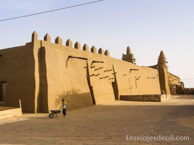 desiertos del mundo: mezquita de Tombuctú