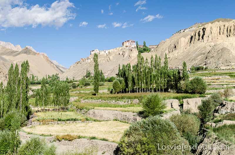monasterio de lamayuru desde el valle