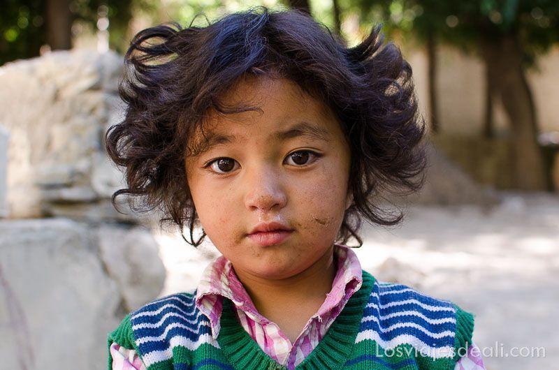 niña guapa de lamayuru