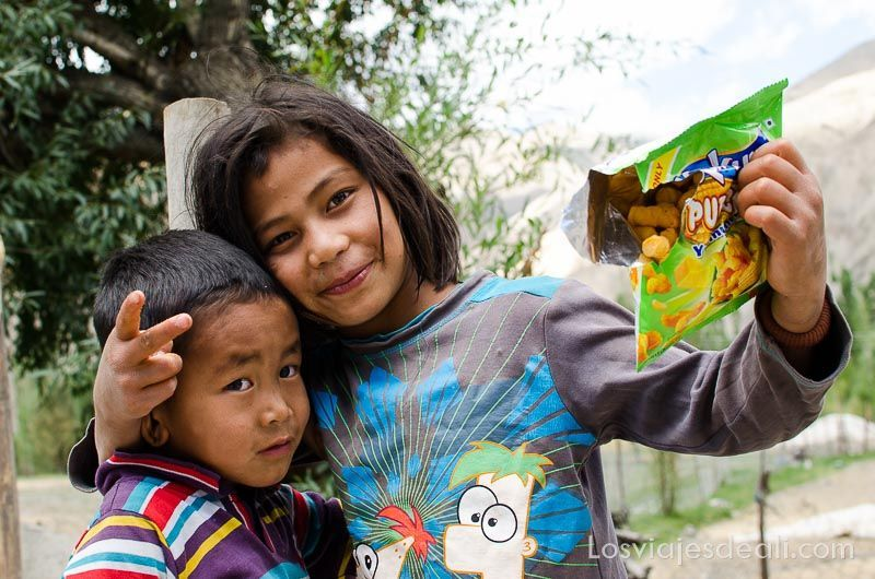 niños de wanla ladakh