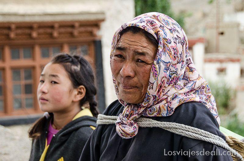 señora del monasterio de lamayuru