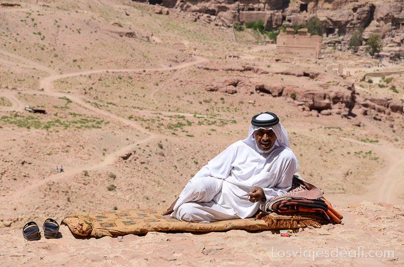 Petra beduino en el yacimiento