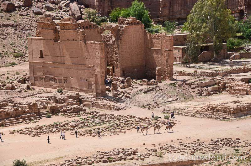 Petra ruinas romanas
