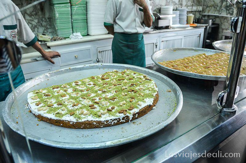 dulces árabes en Amman