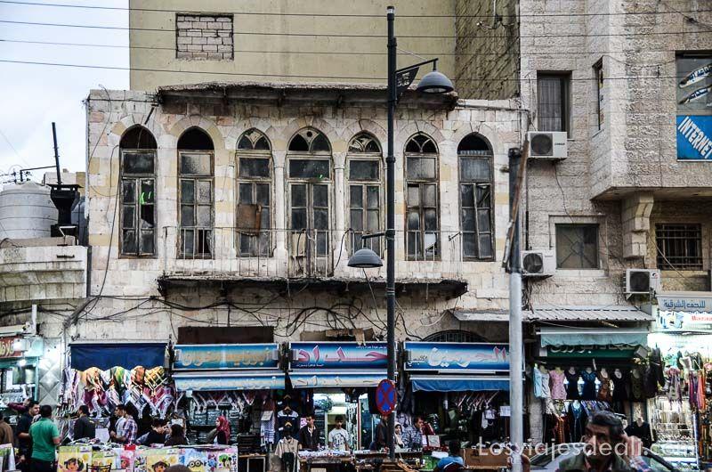 amman edificios antiguos jordania
