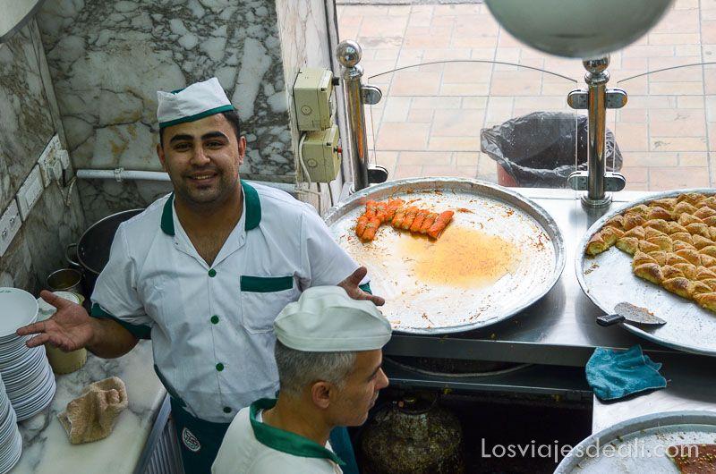 amman pastelería del centro Jordania en 6 días