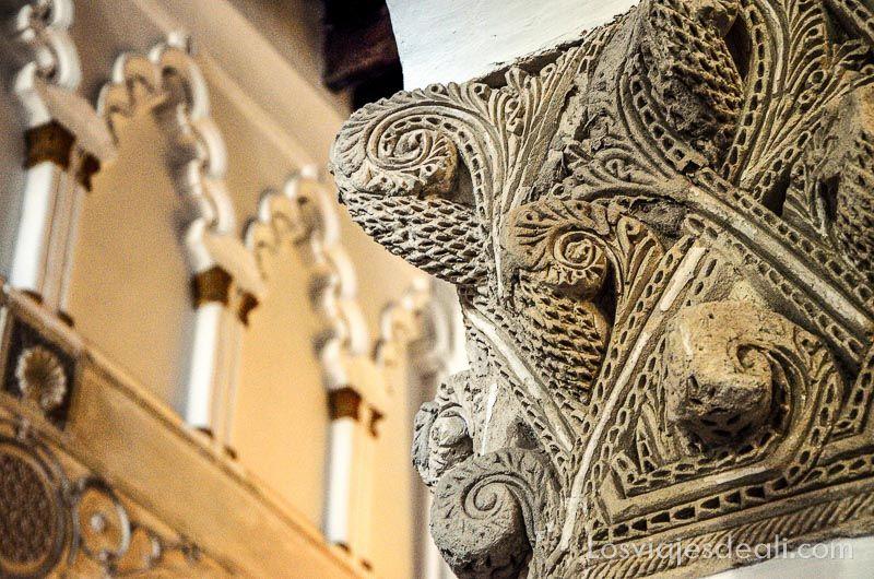 tres culturas de toledo santa maria la blanca sinagoga
