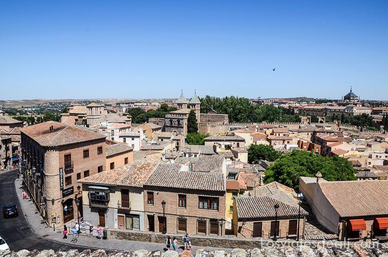 vistas de Toledo desde las murallas