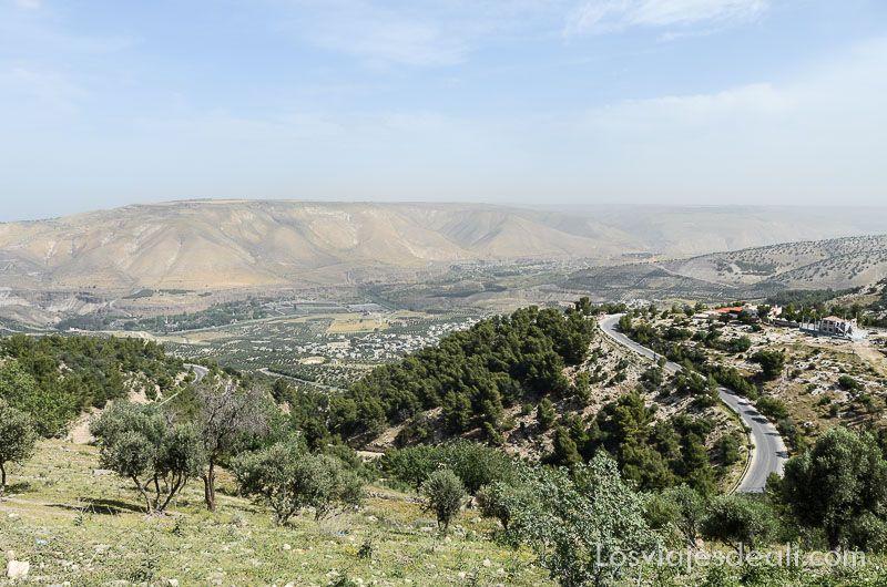 um qays y ajlum frontera con siria