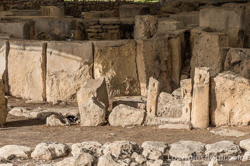 arqueología en Malta templos de Tarxien