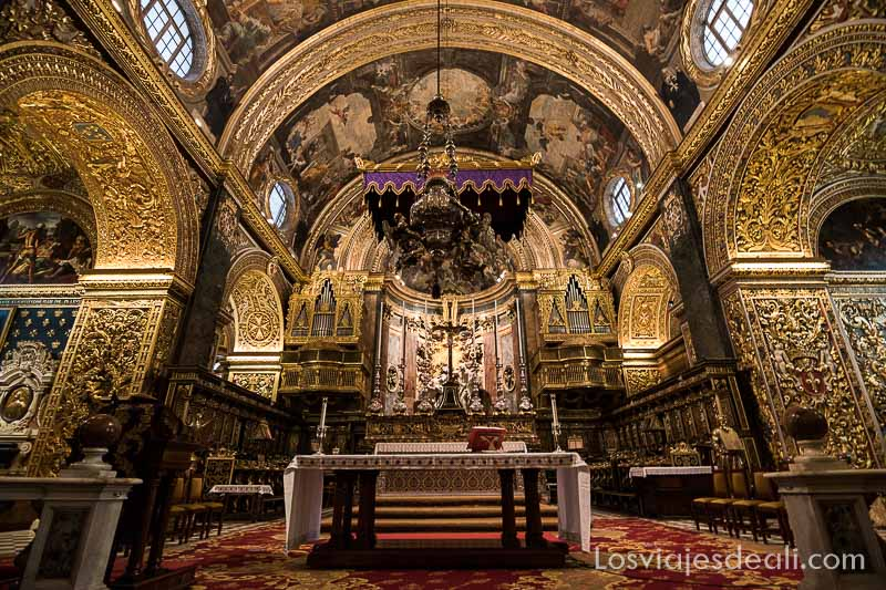 catedral de La Valeta Viaje a Malta