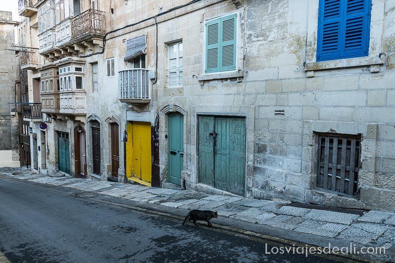 calles de la Valeta Viaje a Malta