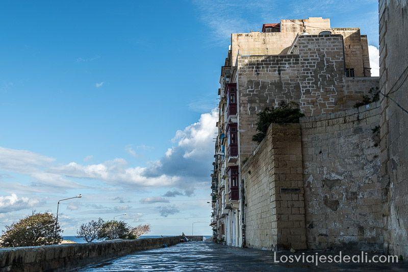 viaje a Malta calles de La Valeta