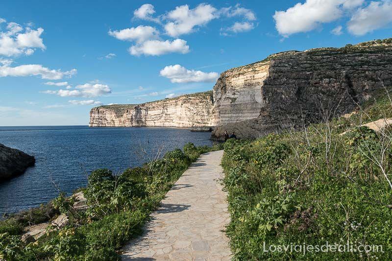Viaje a Malta Xlendi en Gozo